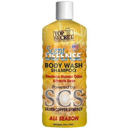 t Defense Body Wash and Shampoo, Yellow, 12 oz ()