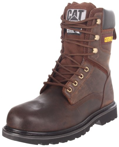 Caterpillar Mens Rangler Mr 8 Werkschoen Donkerbruin