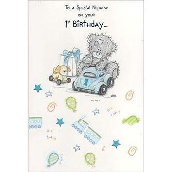 Nephew 1st birthday me to you bear card amazon toys games nephew 1st birthday me to you bear card bookmarktalkfo Images