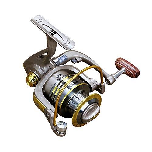 Lanlanmaoyimg Full Metal 12 Ball Bearings Rocker Handle Wheel Seat Fishing Spinning Reel (SKU : Kd000015af)