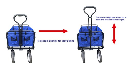 ABO Gear Utility Wagon Garden Cart - Blue