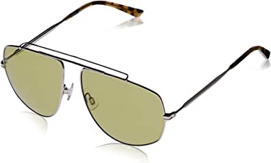 Puma Men's PU0188S PU0188S-006 59 Aviator Sunglasses, Gold, 59 mm