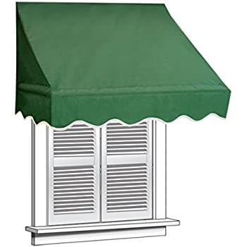 ALEKO 4x2 Green Window Awning Door Canopy 4-Foot Decorator Awning  sc 1 st  Amazon.com & Amazon.com: ALEKO 6x2 Green Window Awning Door Canopy 6-Foot ...