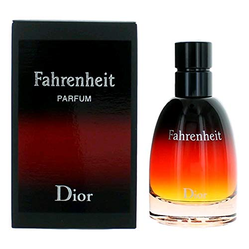 Christian Dior Fahrenheit Parfum Spray for Men, 2.5 Ounce Dior Homme Mens Leather