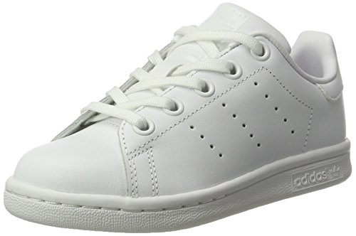 adidas Footwear Scarpe Bianco Unisex White Ginnastica da Stan Smith C White Basse Bambini Footwear Footwear White gq6wrgRt