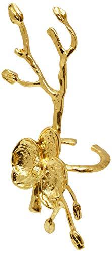 Anel Guardanapo Luxo Flor Mimo Style Dourado