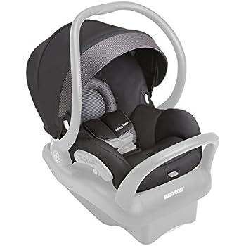 Maxi-Cosi Mico Max 30 Fashion Kit, Devoted Black (Car Seat Sold Separately)