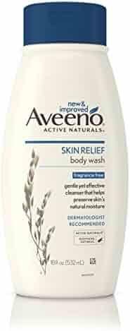 Aveeno Active Naturals Skin Relief Body Wash, Fragrance Free, 18 Fl. Oz