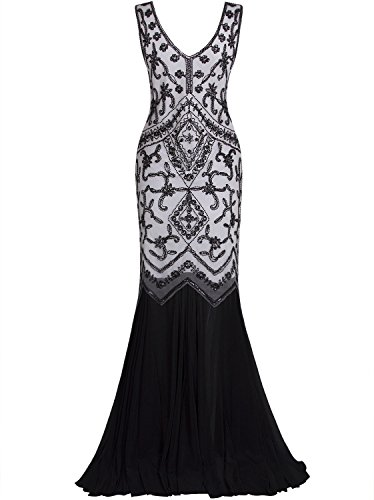 long black and white prom dresses - 7