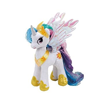TY – TY41182 – My Little Pony – Peluche de Princesa Celestia – 20 cm