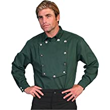 Scully Wahmaker By Men's Wahmaker Brushed Twill Bib Shirt - 538720 Tan