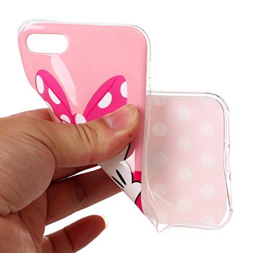 iPhone 6 6S Hülle Netter Bowknot Premium Handy Tasche Schutz Schale Für Apple iPhone 6 6S + Zwei Geschenk