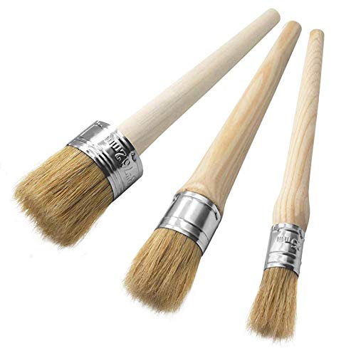 50mm Painting Wax Brush Drawing Brushes Wax Brush Chalk Paint Bristle Brush