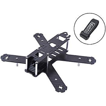 Crazepony H210 Carbon Fiber FPV Race Quadcopter Frame like QAV210 QAV250 etc