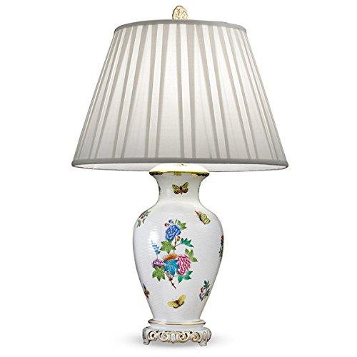 Herend Queen (Herend Porcelain Queen Victoria 30 Inch Lamp)