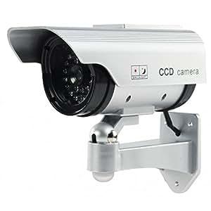 Veka - Cámara de vigilancia falsa (solar, hermética, LED IR)
