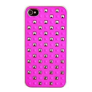 TY-Pudding Patrón de nuevo caso para el iPhone 4/4S (colores surtidos) , Rosado
