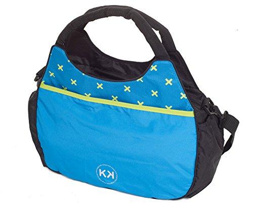 Kids Kargo Bolso cambiador con accesorios (Francés Aqua) French Aqua