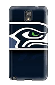 DanRobertse Case Cover For Galaxy Note 3 - Retailer Packaging Seattleeahawks Protective Case