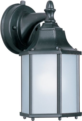 - Maxim Lighting 56926 Side Door LED Outdoor Wall Mount, Empire Bronze Finish, 5.5 by 10-Inch