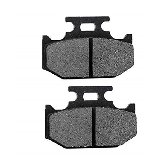 PA Rear Brake Disc Pad Compatible for Yamaha R15 Version 3 (Black) E-03