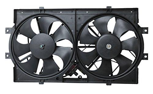 TOPAZ 4596212 Radiator Cooling Fan Assembly for Chrysler Dodge ()