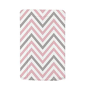 7717818af8f0 My Babiie Baby Waterproof Changing Mat - Pink Chevron: Amazon.co.uk: Baby