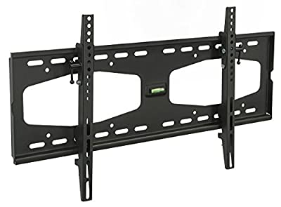 "Mount-It! Tilting TV Wall Mount for 32"" 40"" 47"" 50"" 55"" Samsung, Sony, Vizio, LG, Sharp TVs with Low Profile Design up to VESA 600x400mm, Black"