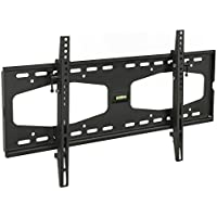 Mount-It! Tilting TV Wall Mount for 32 40 47 50 55 Samsung, Sony, Vizio, LG, Sharp TVs with Low Profile Design up to VESA 600x400mm, Black