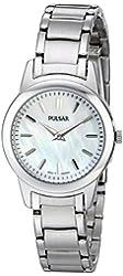 Pulsar Women's PRW011 Silver-Tone Bracelet Watch