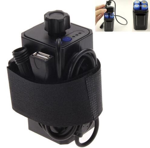 Hanperal 4 X 18650 Water Resistant Battery Pack Case House Cover for Bike Bicycle Lamp by Hanpearl (Image #9)