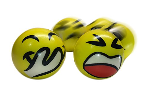 """4181 eXgK%2BL - 3"""" Party Pack Emoji Stress Balls Stress Reliver Party Favors, Toy Balls, Party Toys (12 Pack)"""
