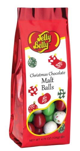 - Jelly Belly Christmas Choco Malt Balls 4.75oz (4-pack)