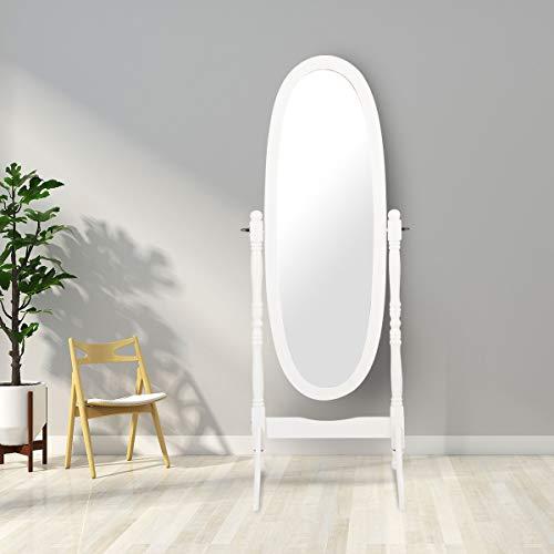 Amazon Com Giantex Bedroom Wooden Floor Mirror Full