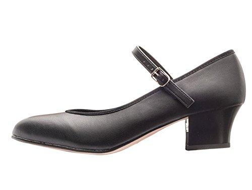 Black Katz Showtime character//stage dance shoes size UK 4