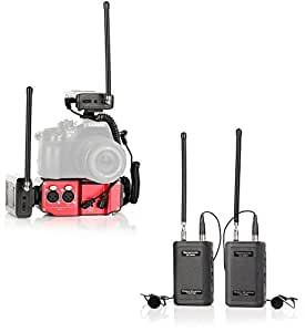 Saramonic Wireless VHF Dual Lav System Kit (with Premium Mixer)