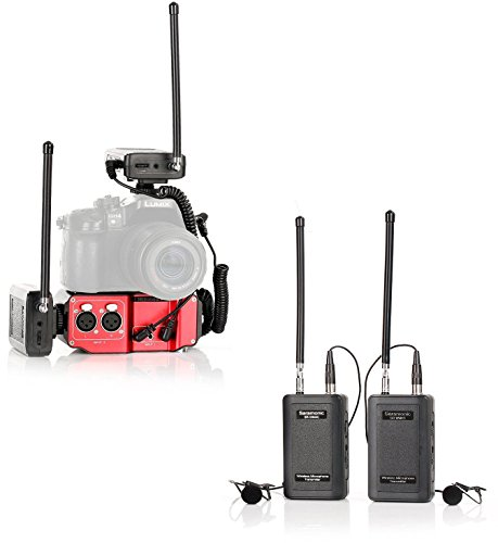 (Saramonic Wireless VHF Dual Lav System Kit (with Premium Mixer))