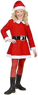 WIDMANN Widman - Disfraz de Papá Noel para niña, talla 4-5 años