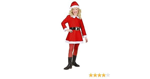WIDMANN Widman - Disfraz de Papá Noel para niña, talla 4-5 años ...