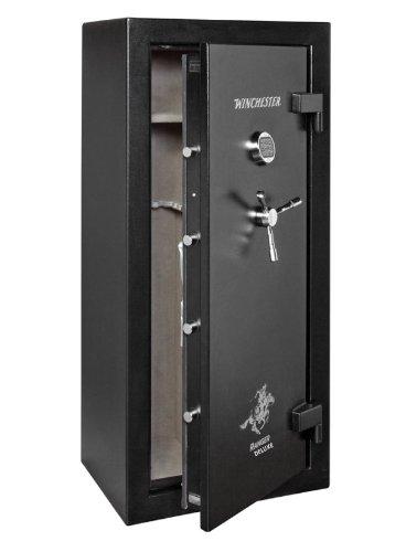 Winchester Ranger Deluxe 19-7-E Gun Safe; 24 Gun Capacity (Black) (Electronic Lock)
