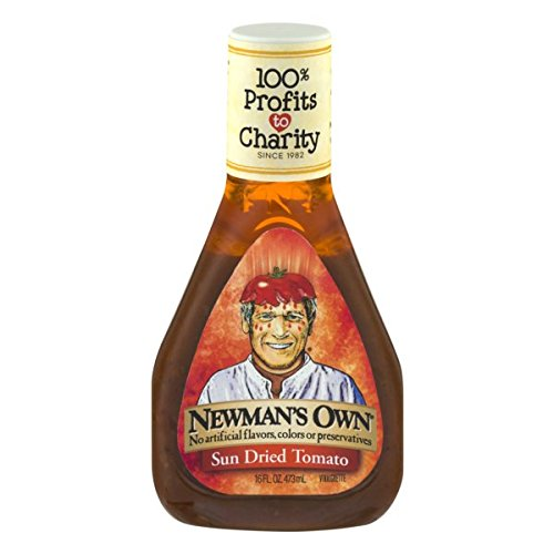 Newman's Own Salad Dressing, Sun Dried Tomato Vinaigrette, 16 - Dried Sun Marinade Tomato