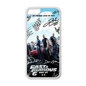 LJF phone case Sunbeam DIY Fast and Furious 6 actors Custom Case Cover For iphone 4/4s(Laser Technology)