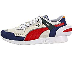"""Part of a collaboration between Puma x Ader Error.  The Rs-1 is a modern update inspired by the classic archive Running System, or """"RS"""" style. Suede and mesh upper. Lace front closure. Round-toe silhouette.  Double tongue with brand logo. IME..."""