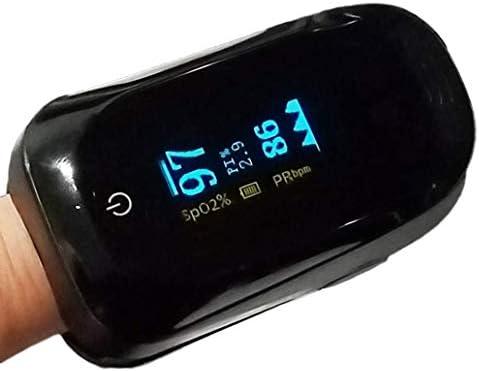 Oxímetro de Pulso LUBL Monitor de Saturación de Oxígeno SpO2 y Pulso Cardíaco con Pantalla OLED 3