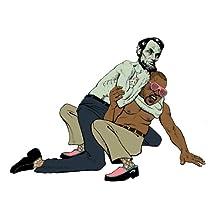 EH3319 Abraham Lincoln VS Kanye West Pop Art 36x24 POSTER Reprint