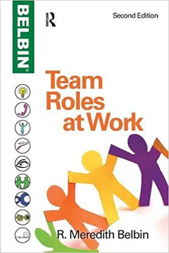 Team Roles at Work: Meredith R Belbin: 0884663578386: Amazon.com ...