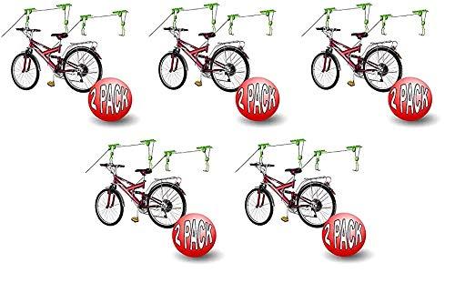 2011 Bike Lane Bicycle Storage Lift Bike Hoist 100LB Capacity Heavy Duty 2 Pack (Fivе Расk)