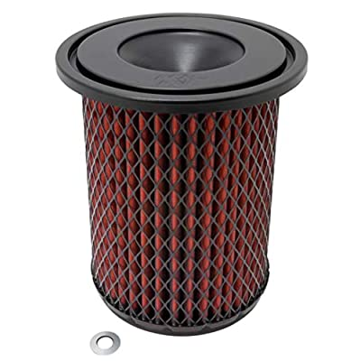 K&N Engine Air Filter: High Performance, Premium, Washable, Industrial Replacement Filter, Heavy Duty: 38-2020S: Automotive