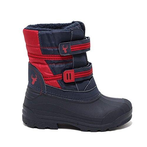 Jungen Schneestiefel Winterstiefel Snow Boots Schuhe Stiefel Schneeschuhe Galosche blau