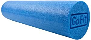 GoFit 24-Inch GoFit Foam Roller with Training Manual, Blue